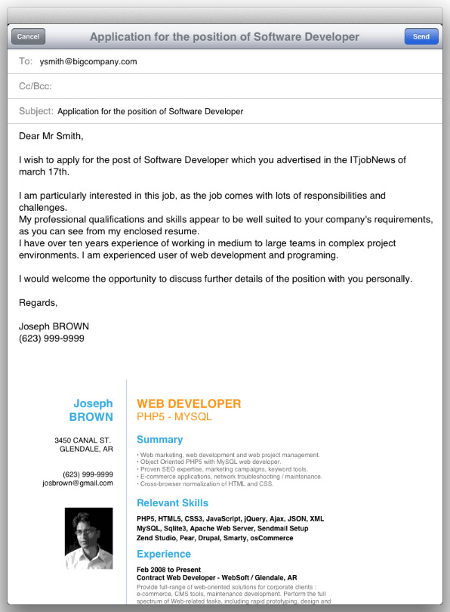 how to send cv and cover letter by email - sending your application by e mail resume cv cover